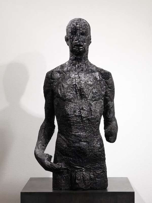 Metamorphous Charcoal Sculptures