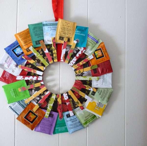 DIY Tea Tag Wreaths
