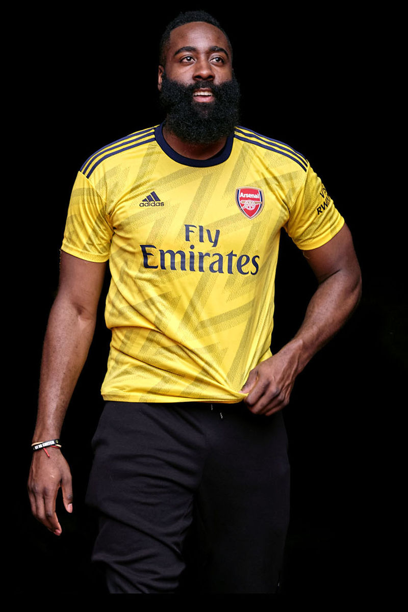 90s-Inspired Soccer Jerseys - adidas Showcases Its New Arsenal Away Kit for the 2019/2020 Season (TrendHunter.com)
