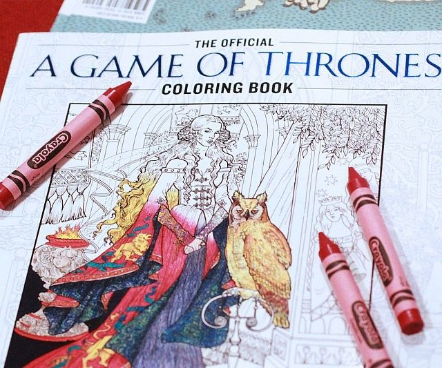 Fantasy TV Coloring Books