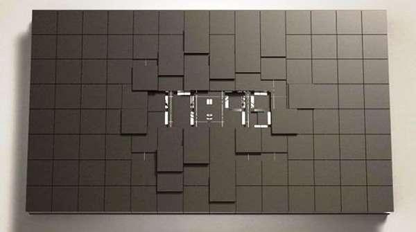 Luxe Block Clocks