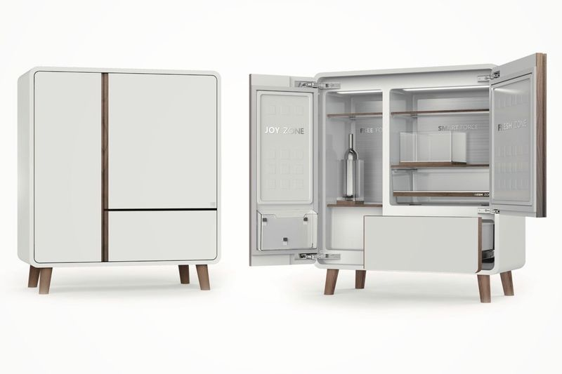 Handsome Hidden Refrigerators