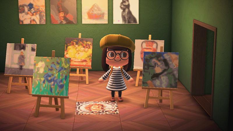 In-Game Art Galleries