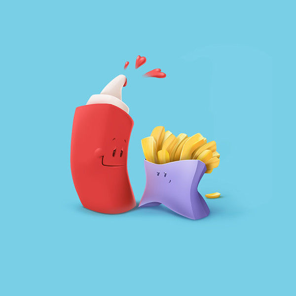 Animated Object Illustrations