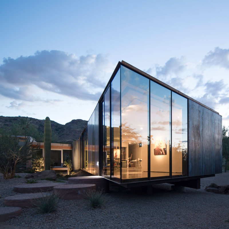 Reflective Art Studio Extensions