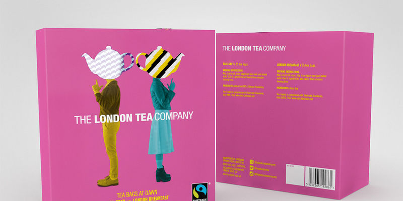 Pop Art Tea Packaging