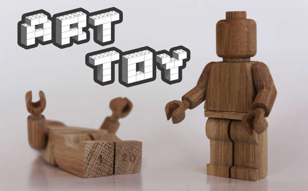 Sophisticated Wooden Minifigs