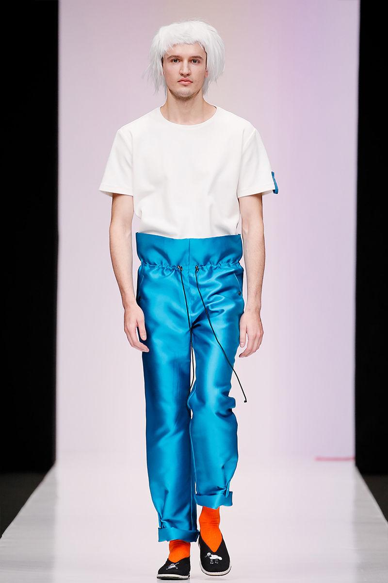 Futuristic Avant-Garde Menswear