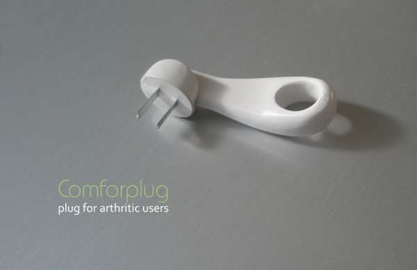 Arthritis-Assisting Electrical Plugs