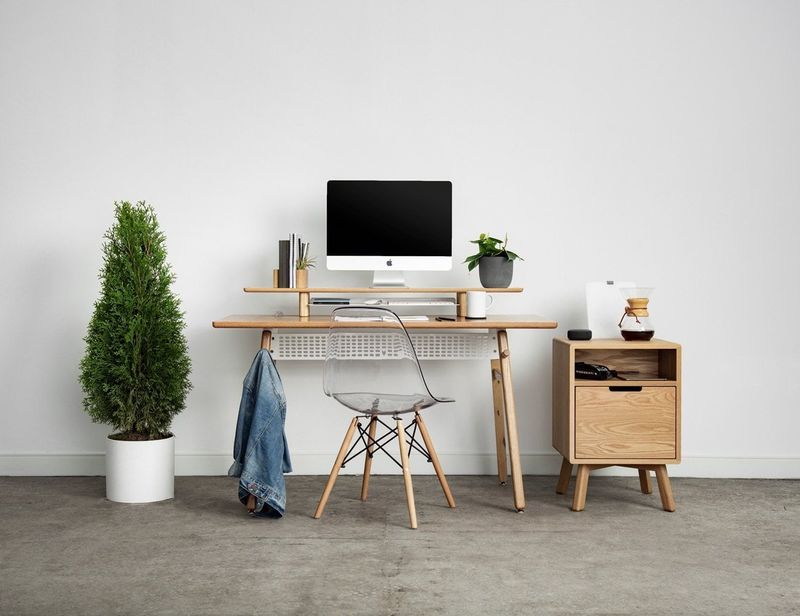 Cord Management Side Tables