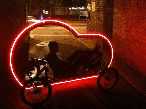 Illuminated Pedal Cars