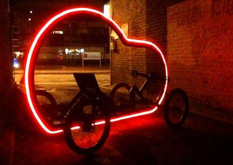 Glowing Bike Rides