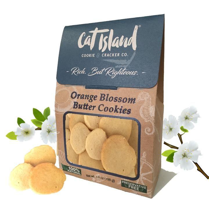 Orange Blossom Cookies