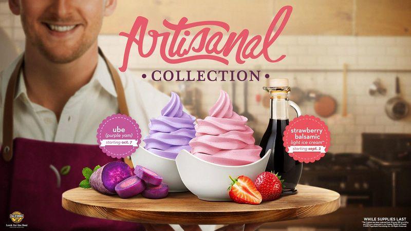 Artisanal Frozen Yogurts