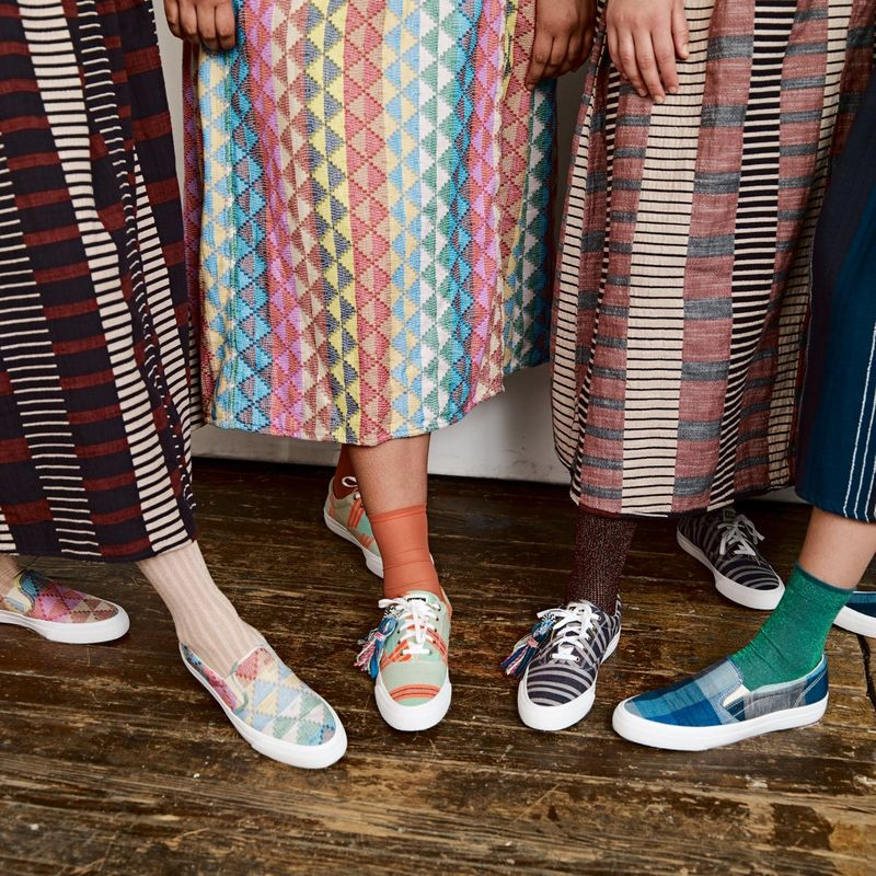 One-of-a-Kind Artisanal Sneakers