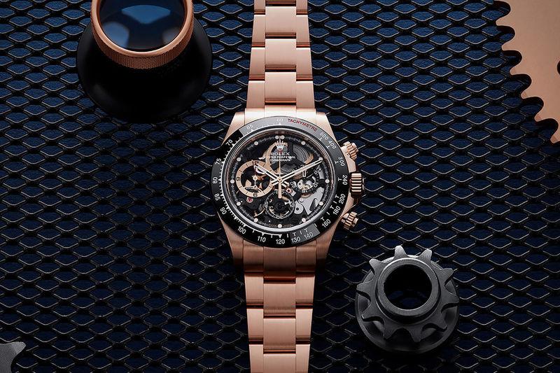 Bespoke Rose-Gold Luxury Watches
