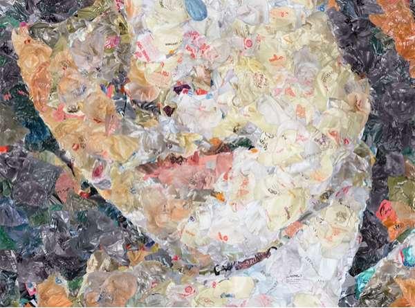 Waste Art Collages (UPDATE)