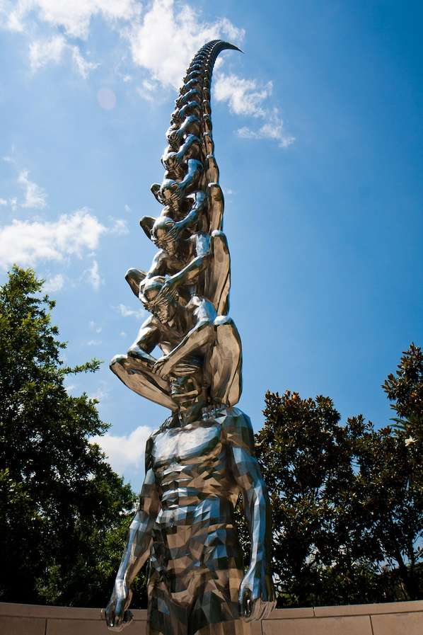 Sky High Ladder Sculptures