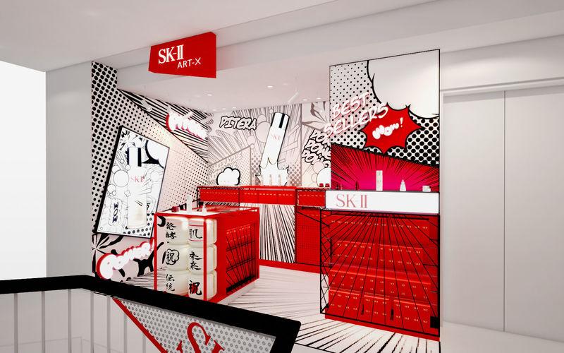 Art-Inspired Cosmetics Stores