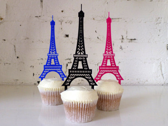 Parisian Dessert Decor