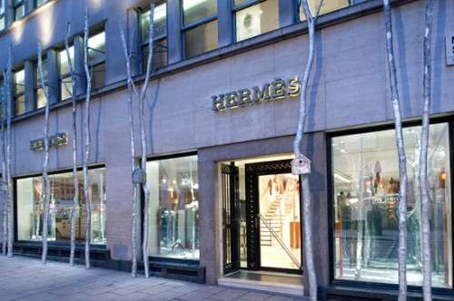 18th Century Sensory Storefronts: Hermes 'Silver Forest ...