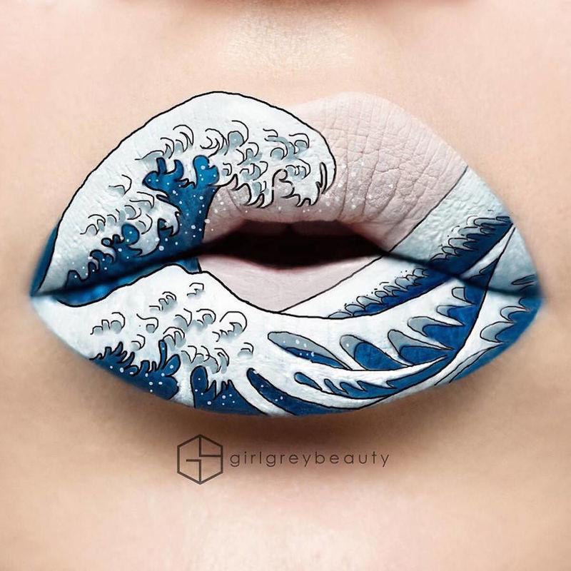 Artistic Lipstick Designs