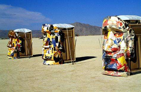 Artistic Outhouses