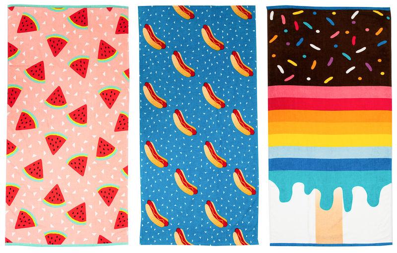Affordable Artistic Towels