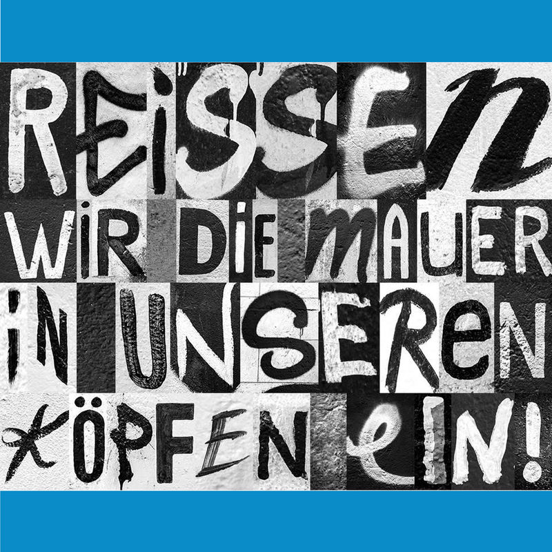 Berlin Wall-Inspired Typefaces