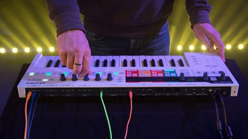 Digital Audio Keyboard Sequencers