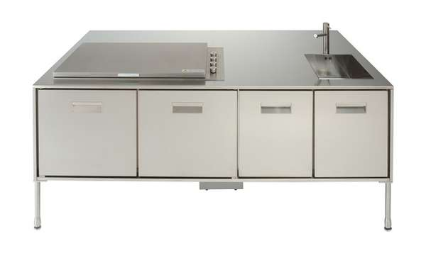 Industrial Deck Kitchens