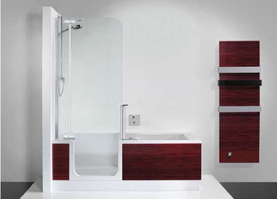 Glass Doored Baths Artweger Twinline 2