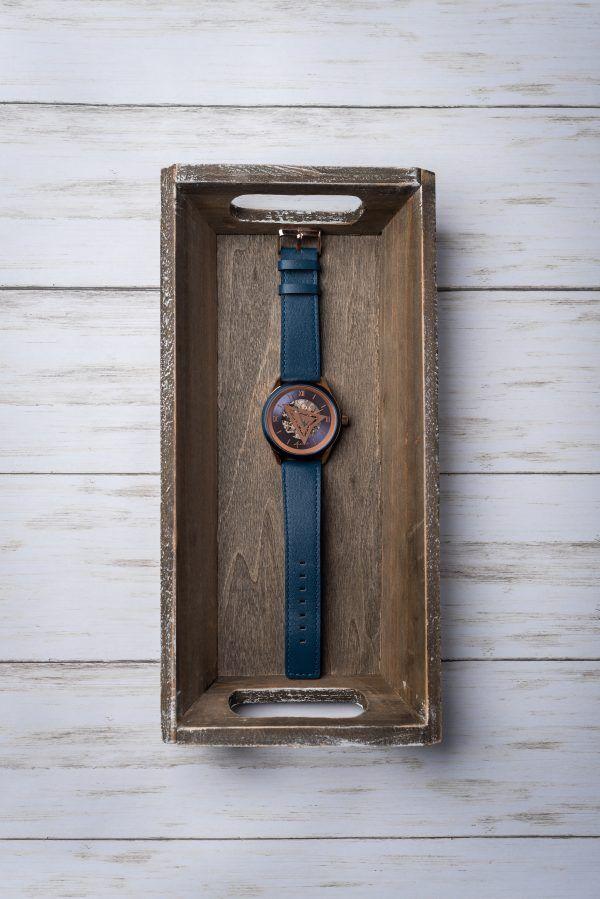 Opulent Open-Face Timepieces