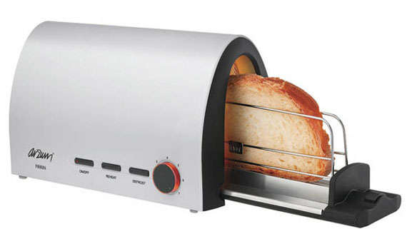 Horizontal Breakfast Toasters