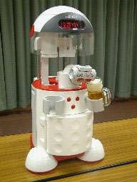 Asahi Robot Bartender Chills and Pours Beer