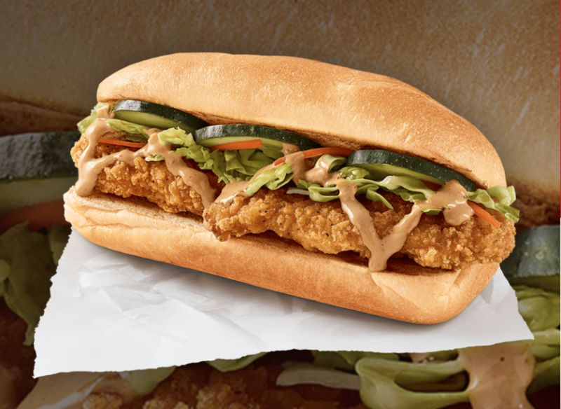 Street Food-Inspired Chicken Sandwiches