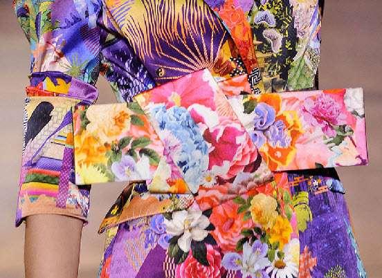 Vibrant Origami Belts