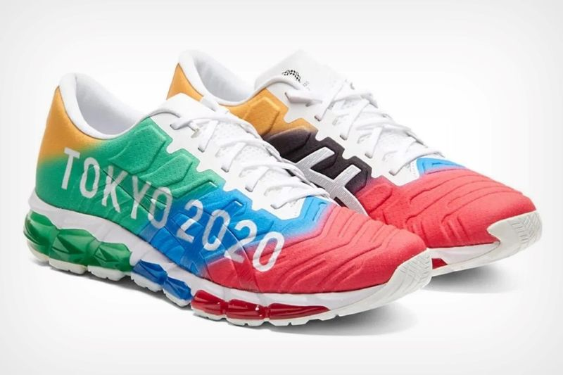 Chromatic Olympic Game Sneakers