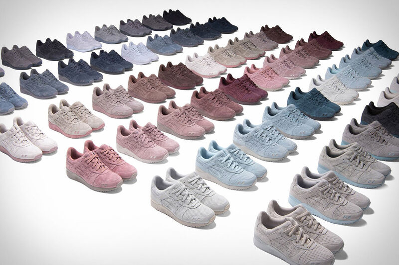 Subdued Celebratory Suede Sneakers
