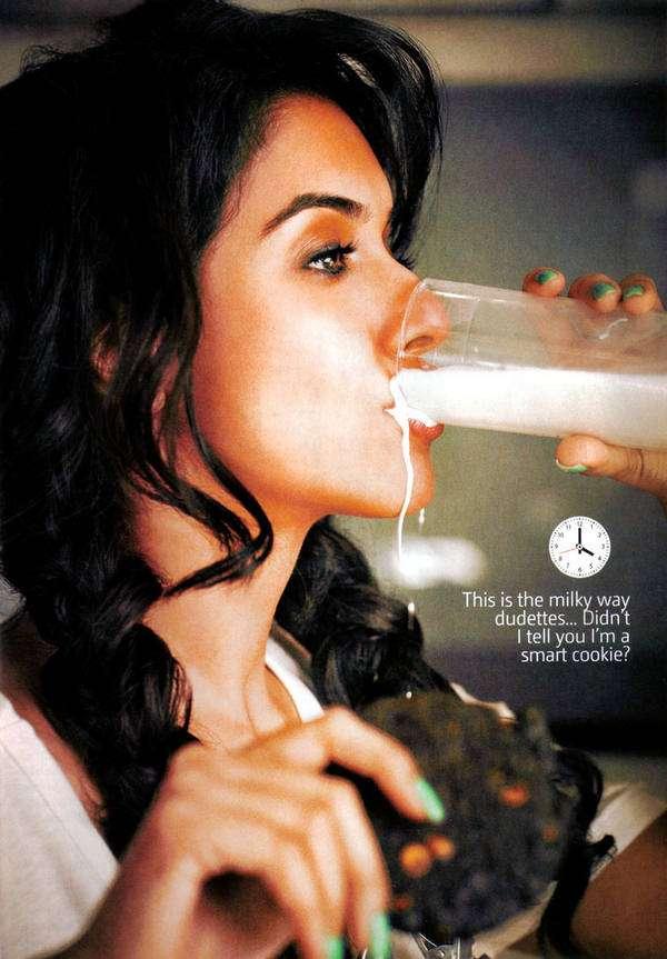 Milk-Dribbling Pictorials