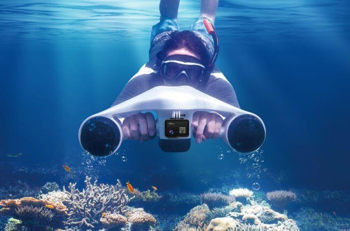 Speedy Underwater Exploration Scooters