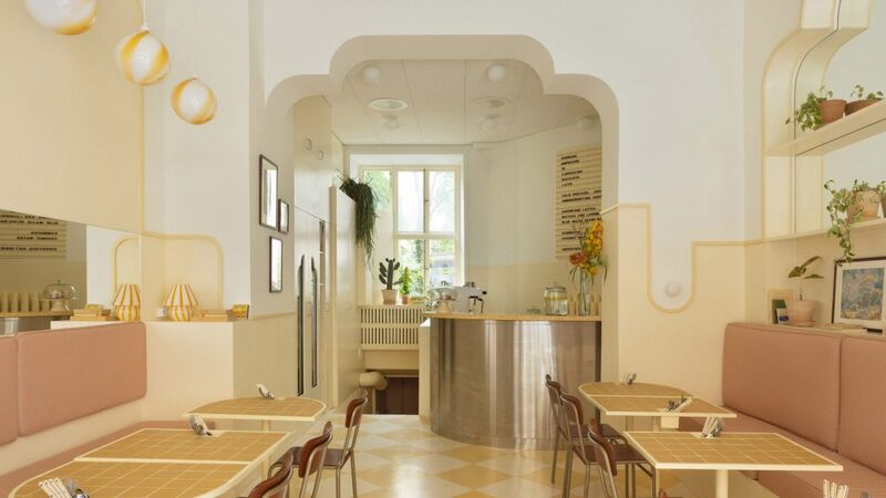 Wes Anderson-Inspired Cafes