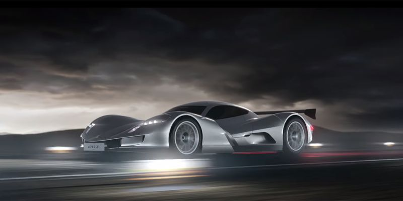 High-Speed Electric Supercars