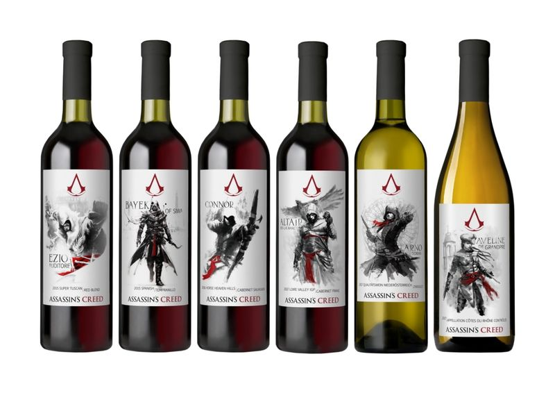 Video Game-Branded Wines