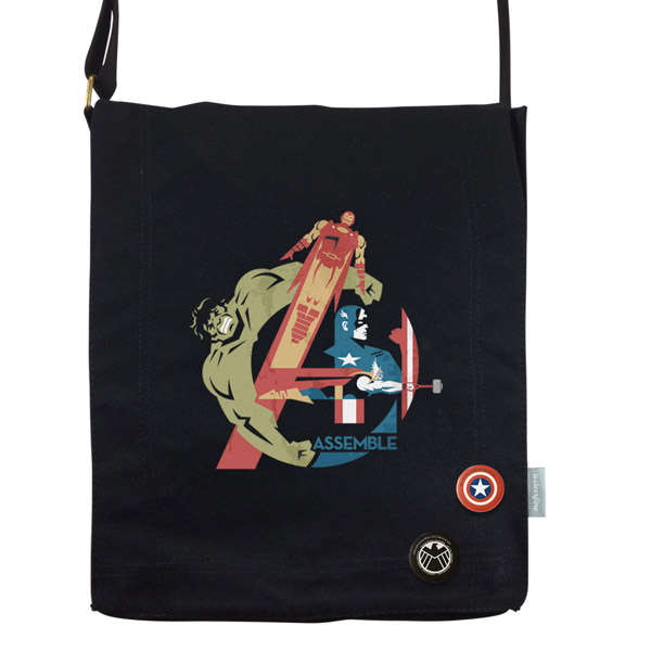 Manipulated Superhero Totes