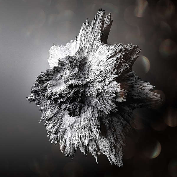 Crystallized Asteroid Artwork