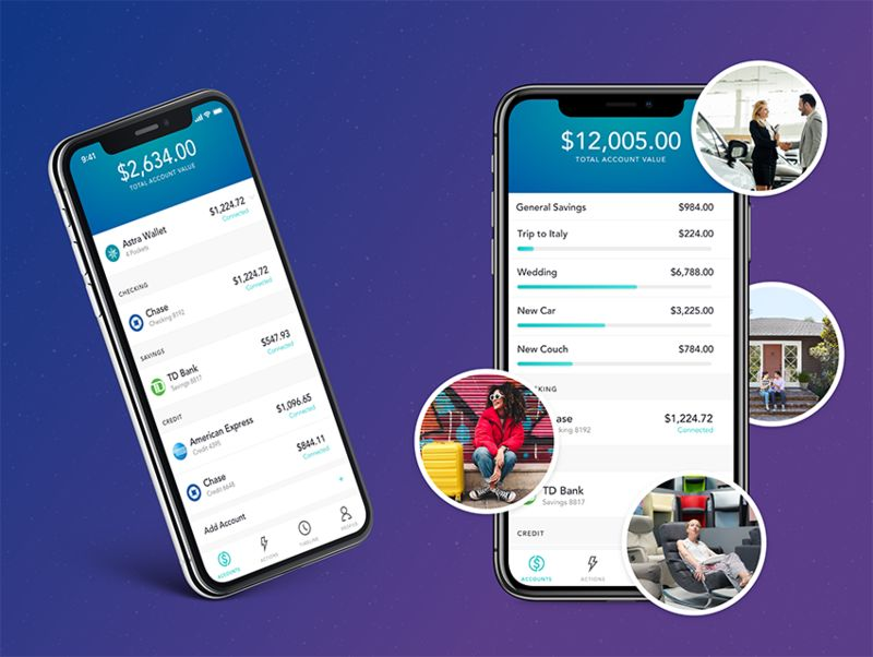 Organized Finance-Optimizing Apps : Astra