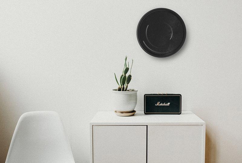 Swirling Digital Display Clocks