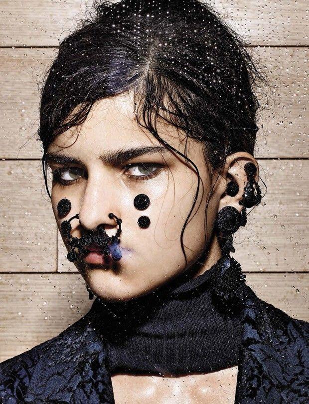 Opulent Punk Portraits