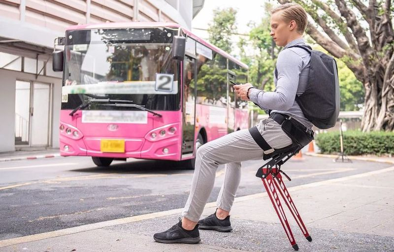 Wearable Exoskeleton Chairs